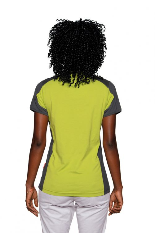 Women-V-Shirt-Contrast Performance (№190)