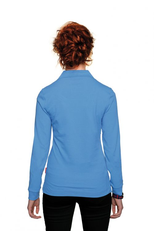 Women-Longsleeve-Poloshirt Performance (№215)