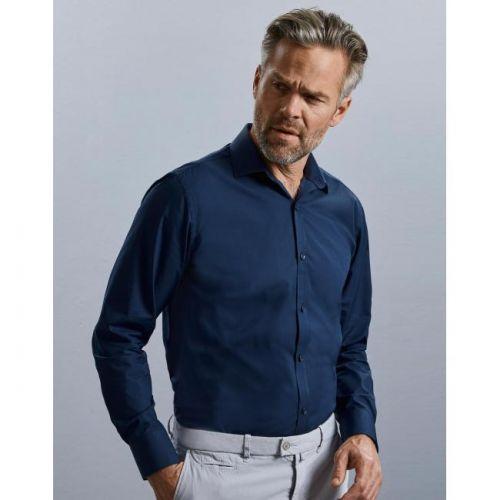 R-960M Ultimate Stretch Shirt für Herren, Langarm