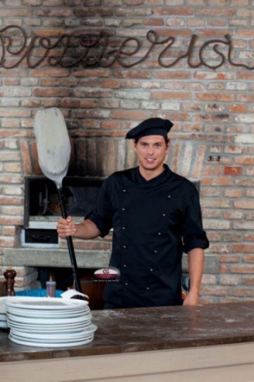 Kochjacke Rimini Nero