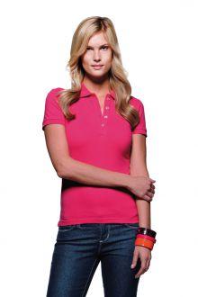 Women-Poloshirt Stretch (№222)