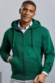 266M Herren Authentic Zipped Hood Jacke