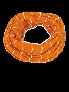 Ringel orange/weiß