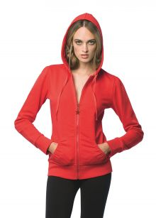 Ladies' Hooded Zip Sweat