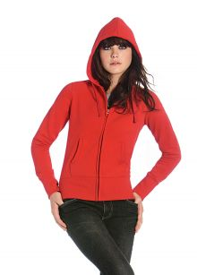 Ladies' Hooded Full Zip